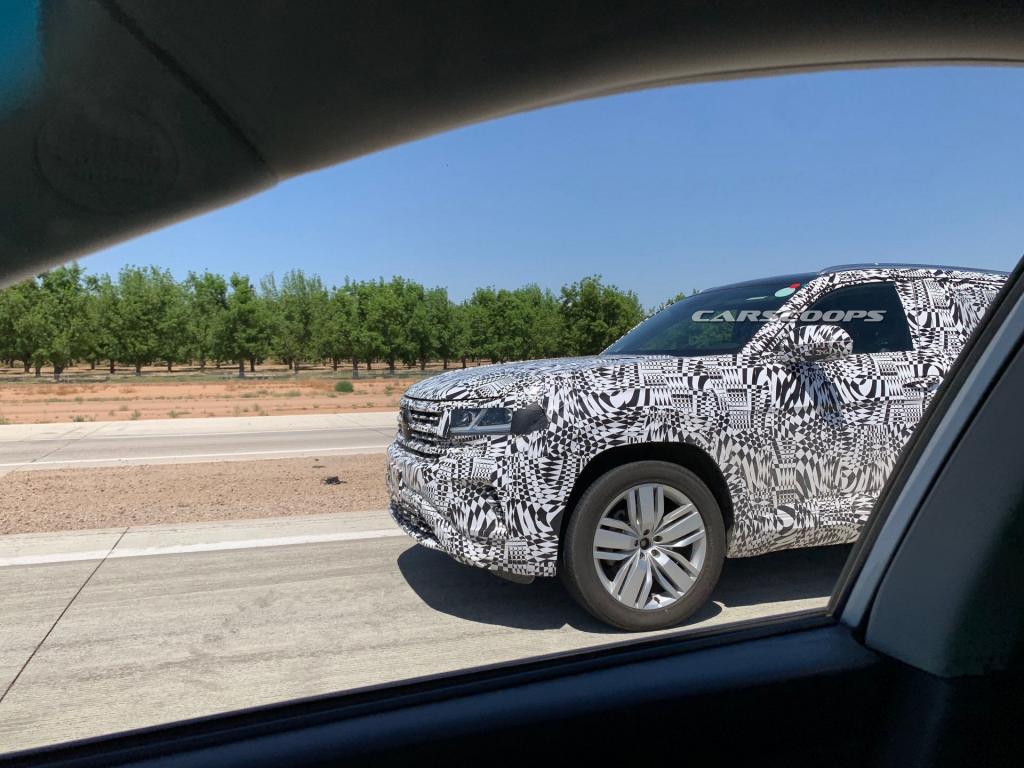 Spy Shots Of The 2020 Vw Atlas Cross Sport Volkswagen Atlas Forum